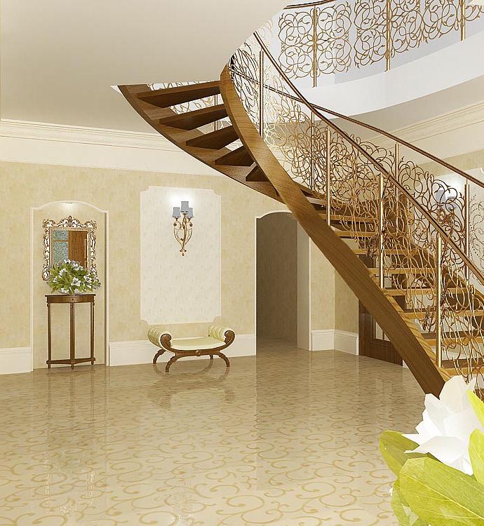 Дом в с. Лески (Одесса) Холл