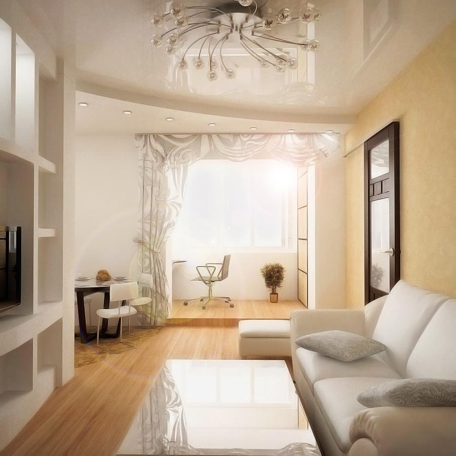 дизайн интерьера 2 комнатной квартиры 6