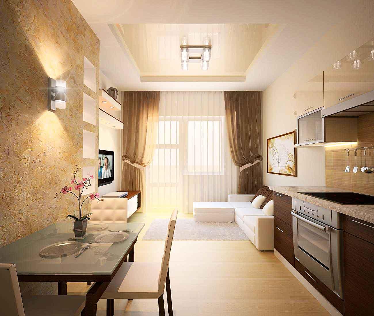 Интерьер дизайн двухкомнатной квартиры новые